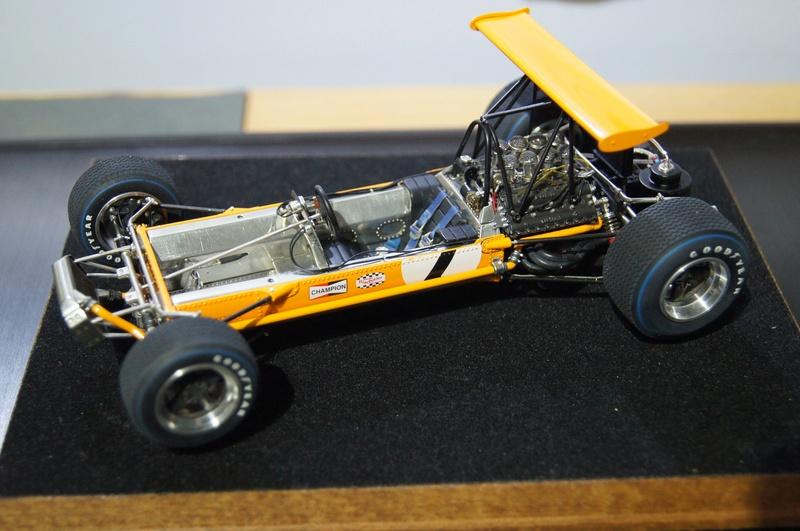 McLaren M7A 1968, Bruce McLaren. Model Factory Hiro, 1/20. - Page 3 Dsc02122
