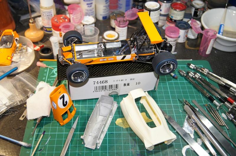 McLaren M7A 1968, Bruce McLaren. Model Factory Hiro, 1/20. - Page 5 Dsc02127