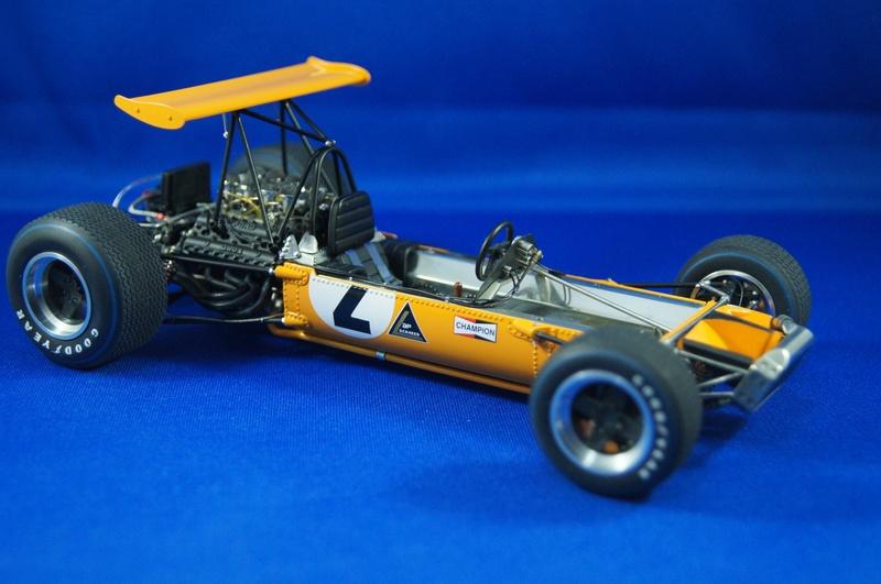 McLaren M7A 1968, Bruce McLaren. Model Factory Hiro, 1/20. - Page 3 Dsc02136