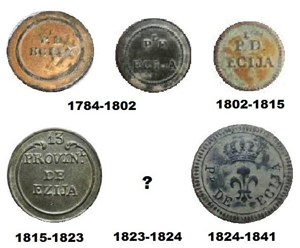 Botones del Batallón Provincial de Écija (1784-1876). 56041310