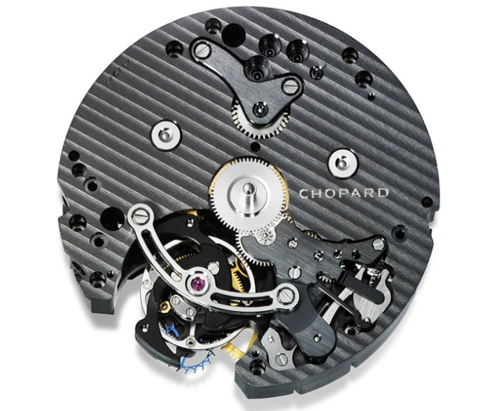 Chopard LUC Tourbillon Tech Steel Wings Screen17