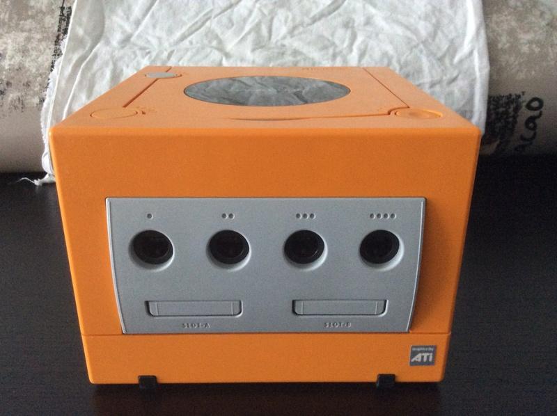 [EST] Nintendo Gamecube Jap Orange Xeno Gc en loose. Img_0210