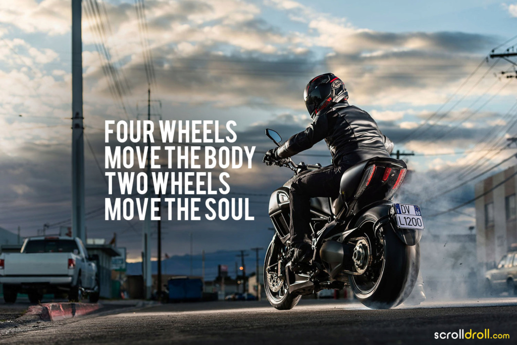 Four Wheels move the Body. Two Wheels move the Soul. - Página 7 Bikers10