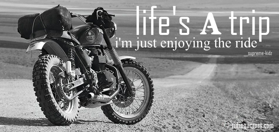 Four Wheels move the Body. Two Wheels move the Soul. - Página 8 Riding11