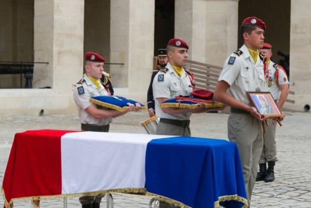 Albéric Riveta est le militaire du 1er RCP de Pamiers qui a trouvé la mort en opération au Mali 15120110