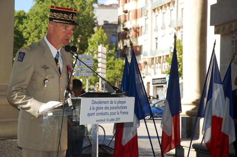 Toulouse : l'hommage aux parachutistes 20023810