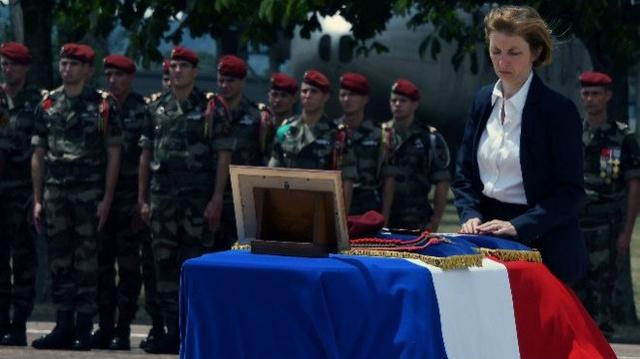 Albéric Riveta est le militaire du 1er RCP de Pamiers qui a trouvé la mort en opération au Mali Hommag11