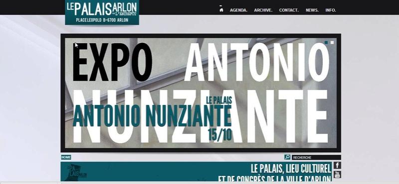 """""""Penser l'image et peindre la pensée""""10 settembre - 20 ottobre. Arlon, Palais d'Arlon 0011"""