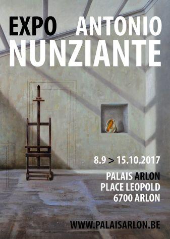 """""""Penser l'image et peindre la pensée""""10 settembre - 20 ottobre. Arlon, Palais d'Arlon Affich10"""