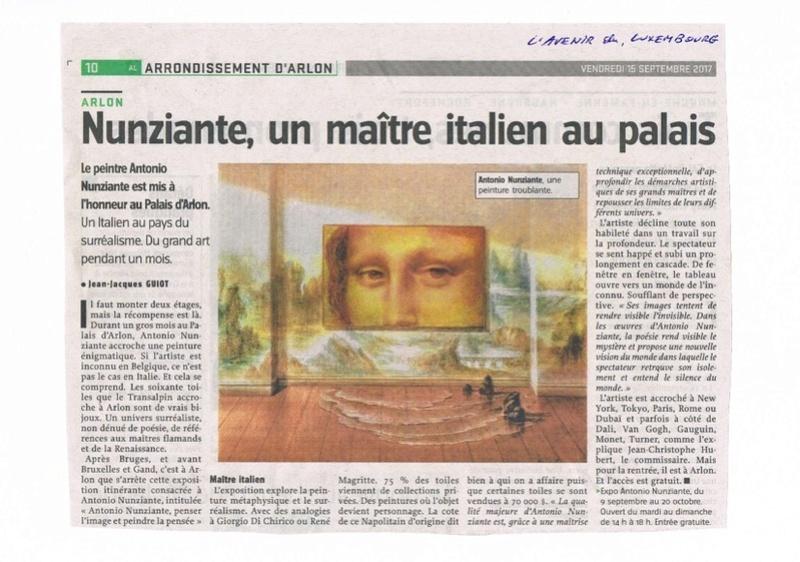 """""""Penser l'image et peindre la pensée""""10 settembre - 20 ottobre. Arlon, Palais d'Arlon Cid_5710"""