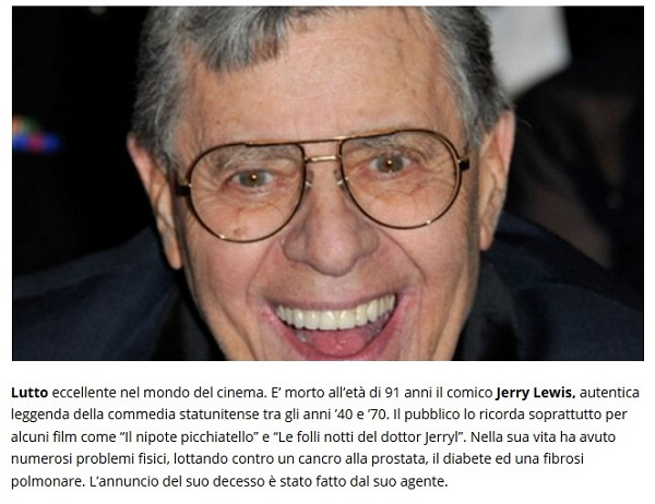 Addio a Jerry Lewis Lewis10