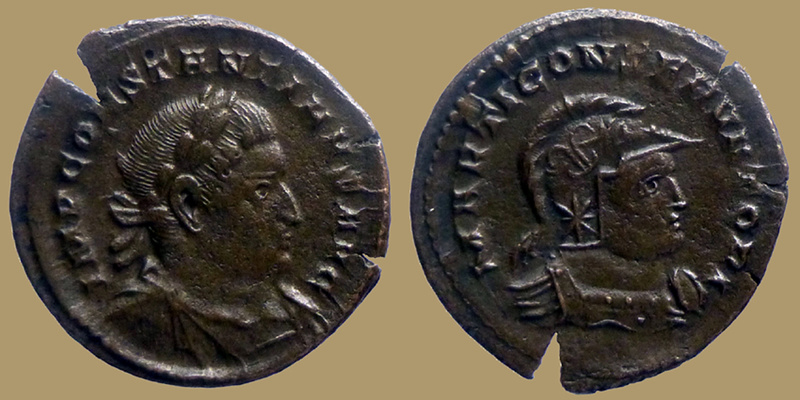 Deux Constantins issus des mêmes coins 0740110