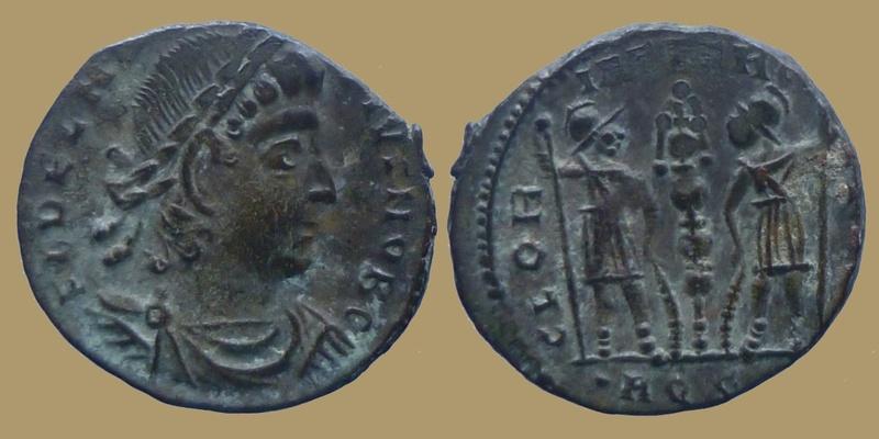Absentes de la BDD -- Constance II auguste pour Trêves et Delmace pour Aquilée  0746610