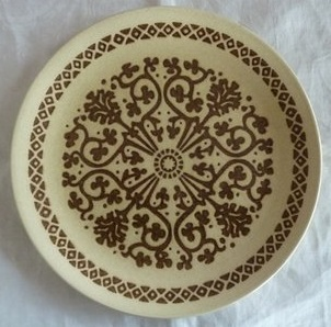 Baroque D 664 for the gallery Kelston ceramics Brown_10