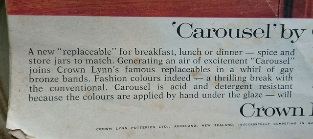 Carousel advert from 1966 Carous10