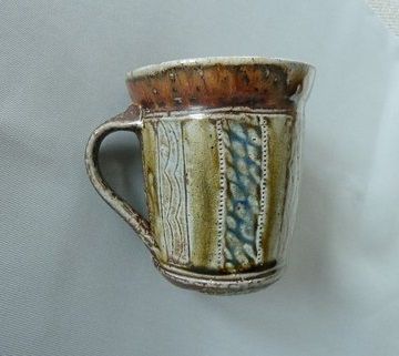 Glazed Jug with Eye mark - is Petra Meyboden Petra10