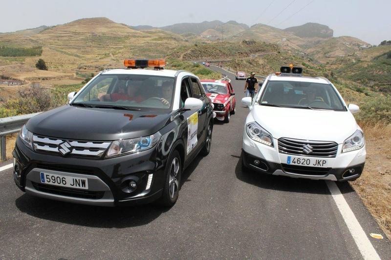 VITARA AND S-CROSS COURSE CAR ON RALLYSPRINT ARTENARA SPAIN 13474910