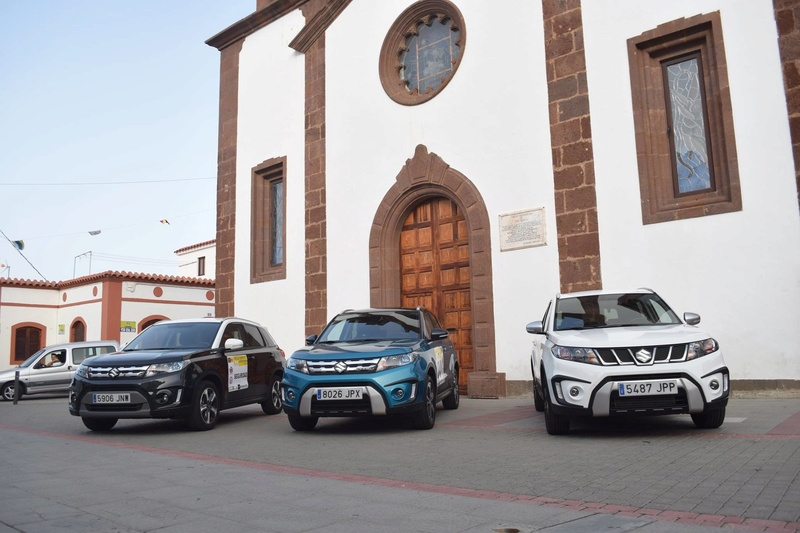 VITARA AND S-CROSS COURSE CAR ON RALLYSPRINT ARTENARA SPAIN 13483011
