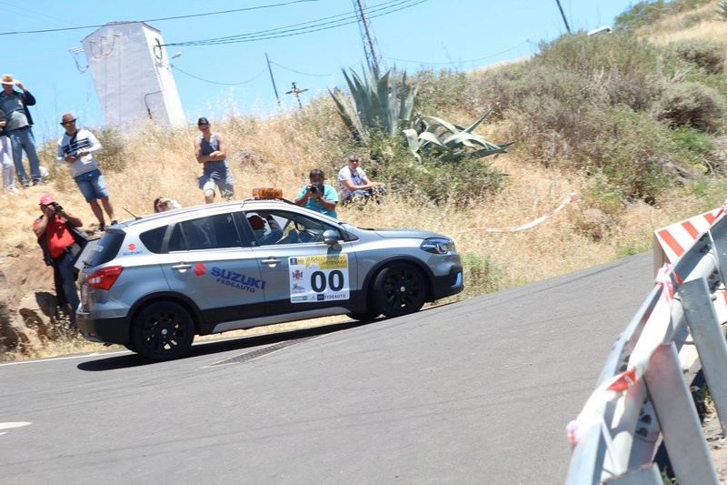 VITARA AND S-CROSS COURSE CAR ON RALLYSPRINT ARTENARA SPAIN 17834810