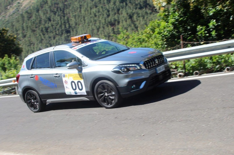 VITARA AND S-CROSS COURSE CAR ON RALLYSPRINT ARTENARA SPAIN 18055810