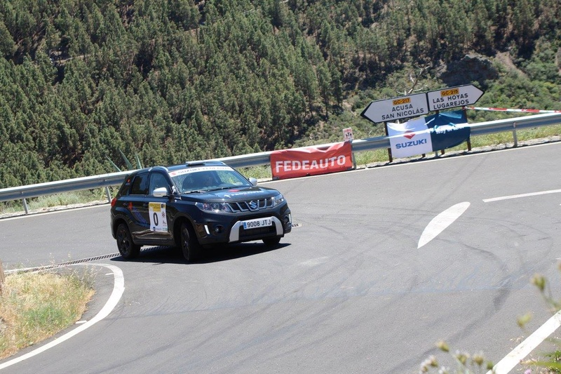 VITARA AND S-CROSS COURSE CAR ON RALLYSPRINT ARTENARA SPAIN 18076810