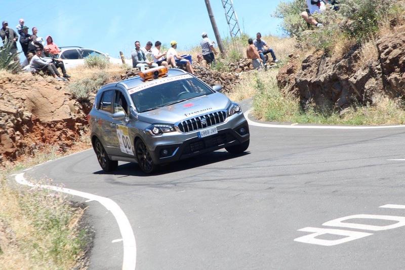 VITARA AND S-CROSS COURSE CAR ON RALLYSPRINT ARTENARA SPAIN 18077211