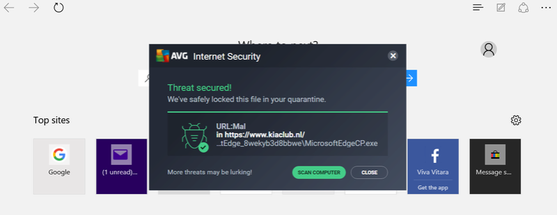VIRUS WARNING FROM KIACLUB.NL Kia10