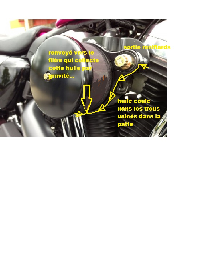 filtre à air sportster sur dyna Filtre10