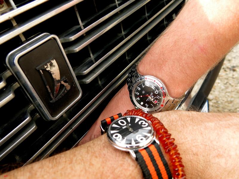 Nos montres avec un objet russe ou soviétique Vincen80