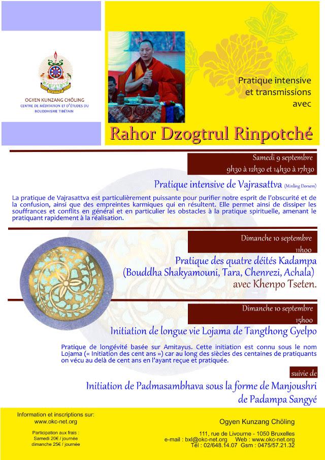 Rahor Dzogtrul Rinpoché à Bruxelles septembre 2017 Dzogtr10