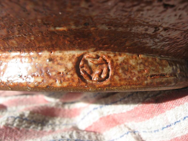 Mystery mark shino bowl Img_2610