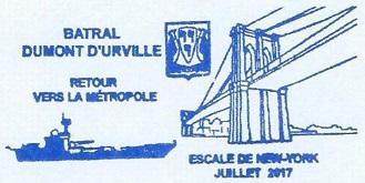 * DUMONT D'URVILLE (1983/2017) * 20170712