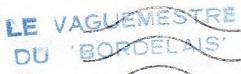 * LE BORDELAIS (1955/1976) * 631010