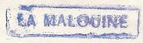 * LA MALOUINE (1954/1985) * 711110
