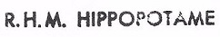 * HIPPOPOTAME (1964/1986) * 840910