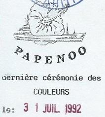 * PAPENOO (1971/1992) * 920710