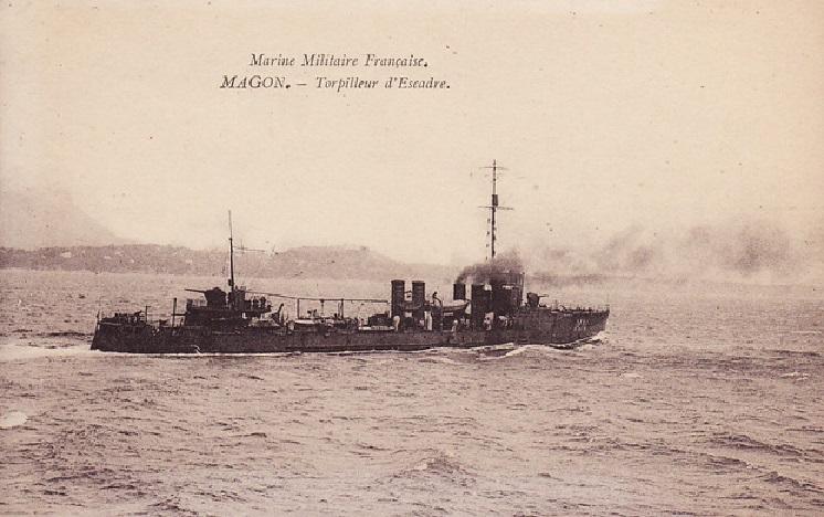 * MAGON (1914/1926) * Contre15