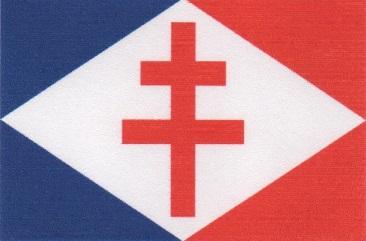 * ÎLE DE FRANCE (1940/1943) * Drapea11