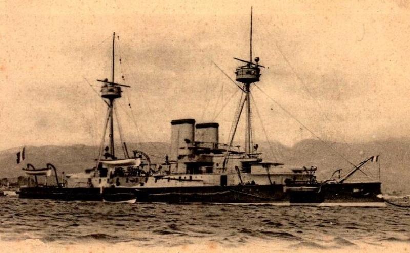 * INDOMPTABLE (1887/1910) * Garde-10