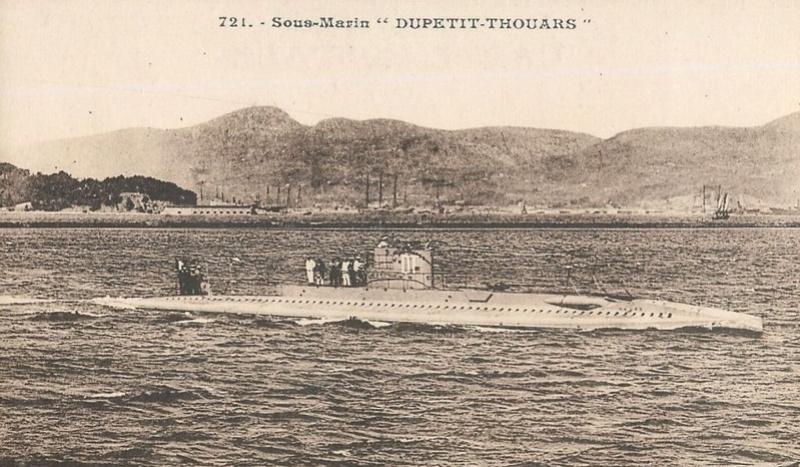 * LOUIS DUPETIT-THOUARS (1923/1928) * Sous-m21