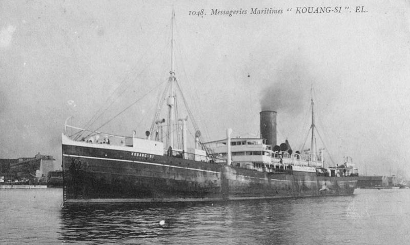 * KOUANG SI (1916/1922) * Transp14