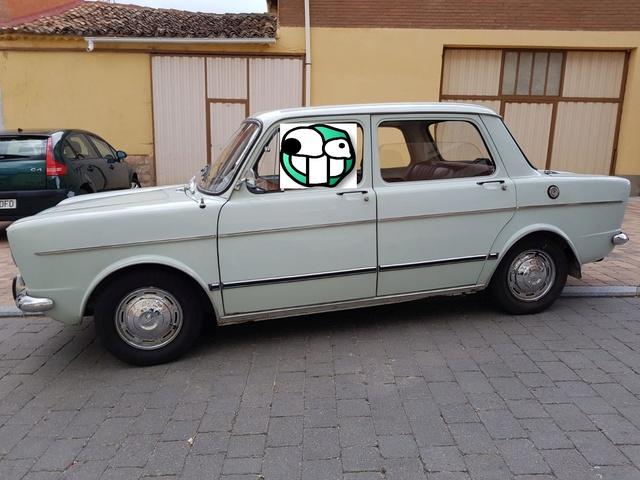 Presentación del coche de mi abuelo (Simca 1000) +Historia 60aa9710