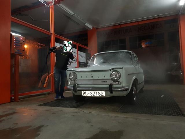Presentación del coche de mi abuelo (Simca 1000) +Historia 63ff9e10