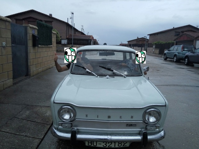 Presentación del coche de mi abuelo (Simca 1000) +Historia 79379f10