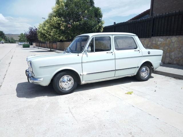 Presentación del coche de mi abuelo (Simca 1000) +Historia Be5e6110