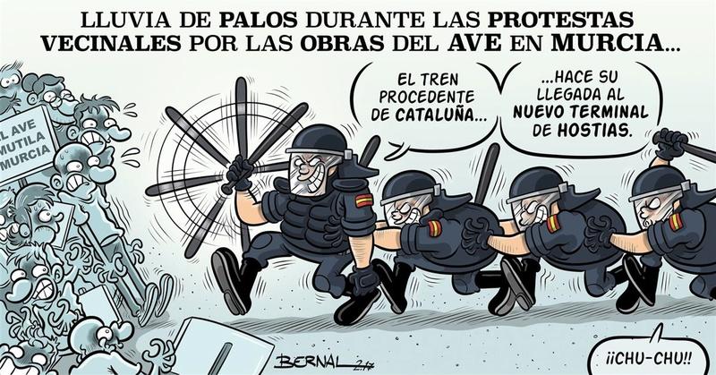 el AVE quizá llegará soterrado a Murcia pero la impunidad política camina por la superficie. - Página 3 Murcia10