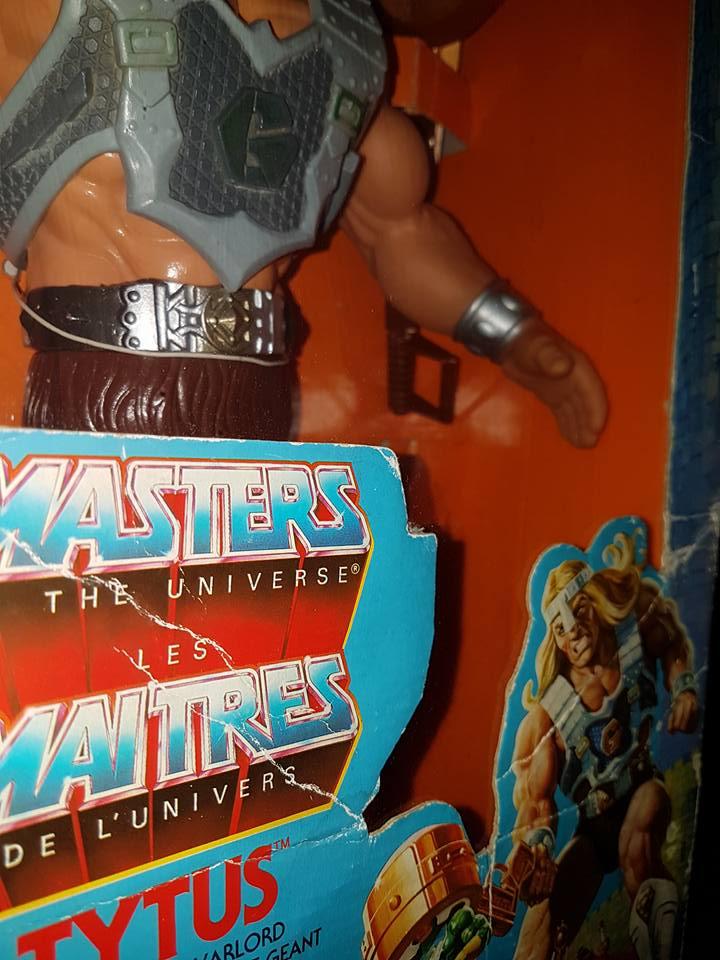 masters - MASTERS OF THE UNIVERSE MOTU TYTUS VINTAGE ACTION FIGURE RARE ANNI 80 ORIGINAL 100% 19598710