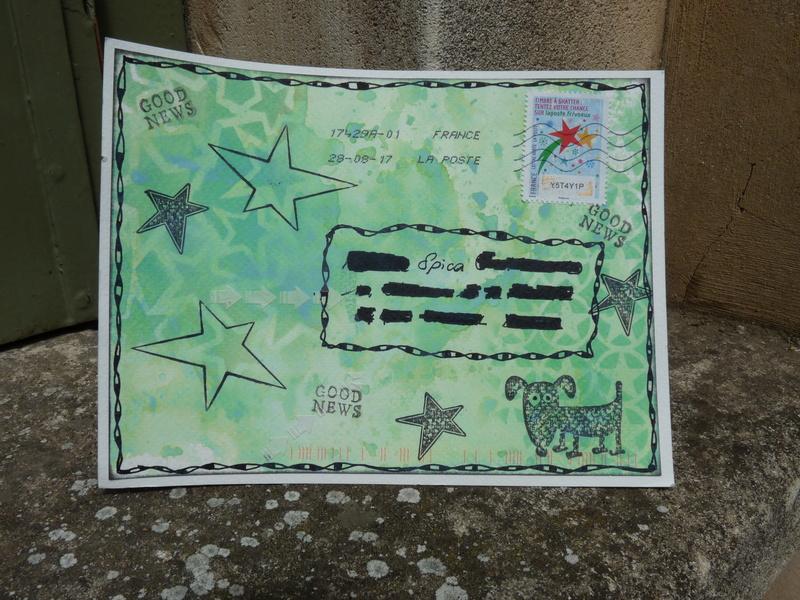 La ronde des mail art et art journal proposé par Chiara - Page 6 P1070710