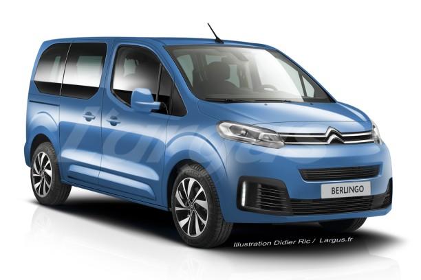 2018 - [FUTUR MODÈLE] Citroën Berlingo III [K9] - Page 2 Citroe13