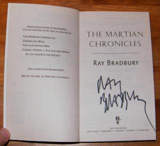 Ray Bradbury dans Le Monde du 22 déc Dscf3411